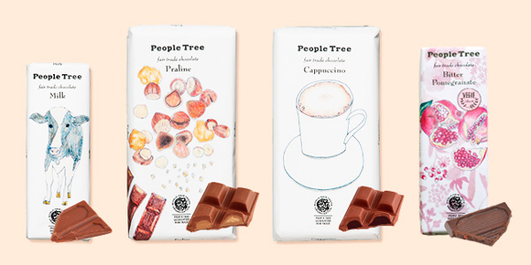 「People Tree」チョコレート(フェアトレード・チョコレート)